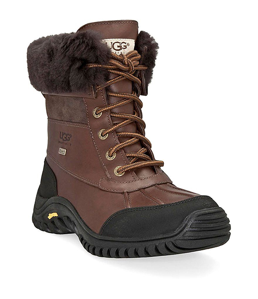 UGG® Adirondack II Cold Weather Lace Up Waterproof Duck Boots