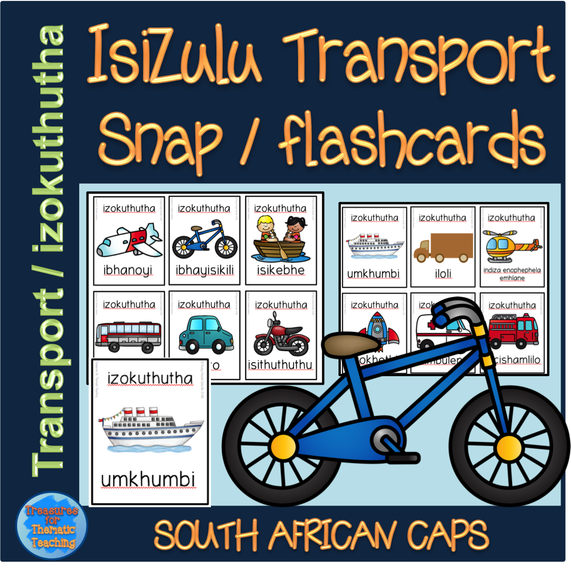 This Resource Is Made Up Of 12 Transport Cards With Three