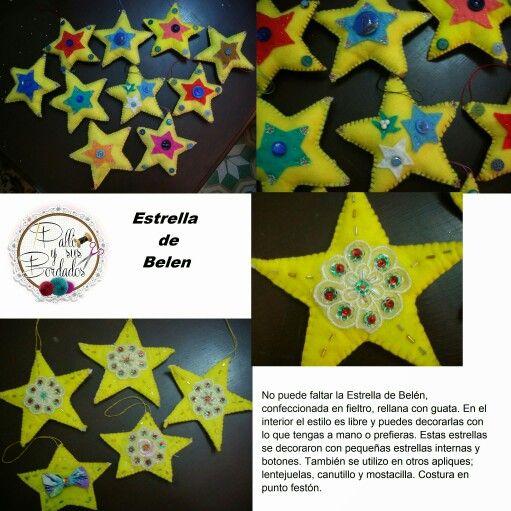 Estrellas en fieltro