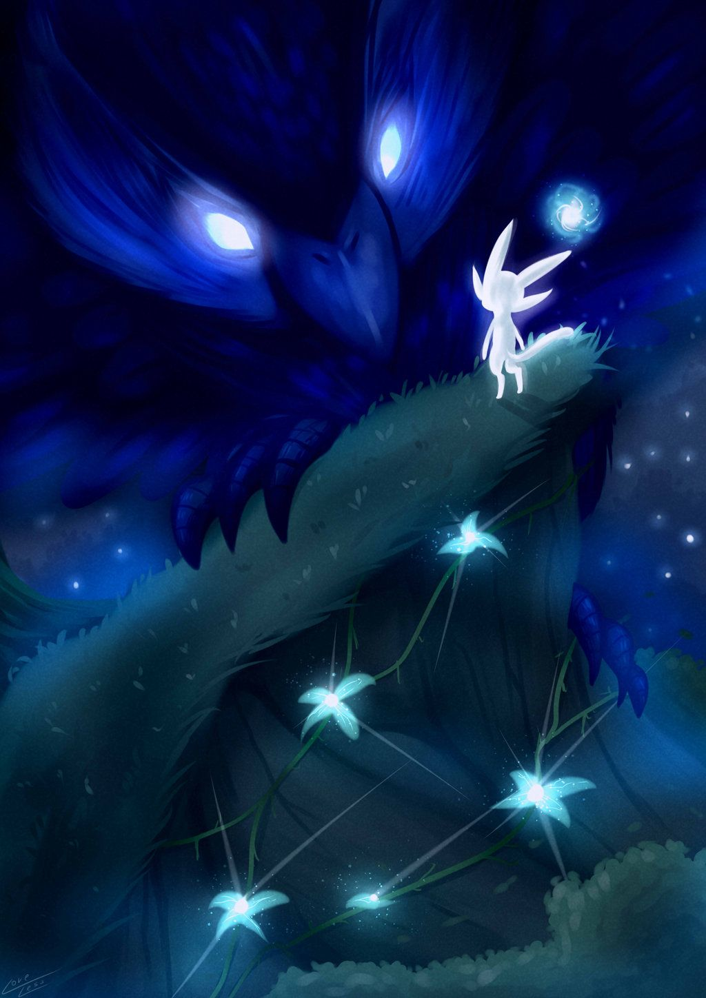 Ori And The Blind Forest Fan Art By Vavacung On Deviantart Ori