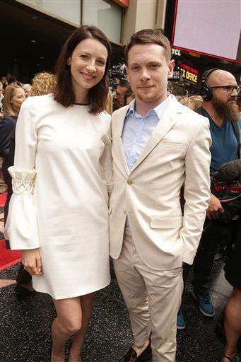 Caitriona Balfe attended Jodie Foster's Walk of Fame Ceremony earlier today See more pictures after the jump –