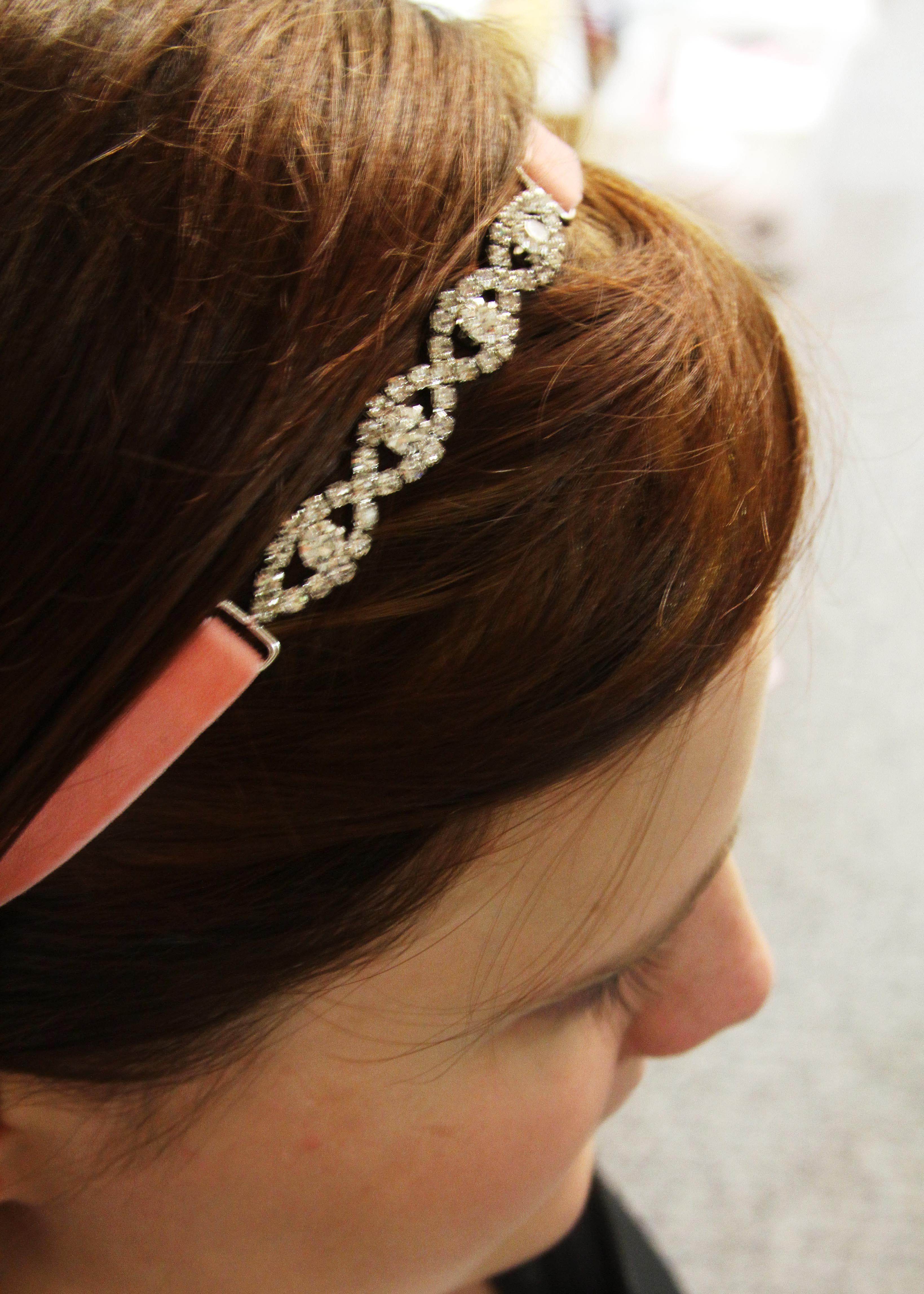 DIY Rhinestone Connector Headband  7f3323155bc