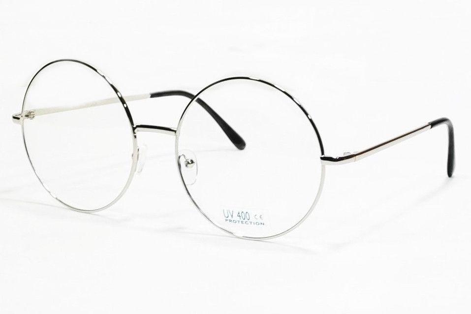 Extra Large Vintage Round Frame Eyeglasses Retro Clear Lens Glasses Sunglass To Go Glasses Trendy Glasses Glasses Inspiration