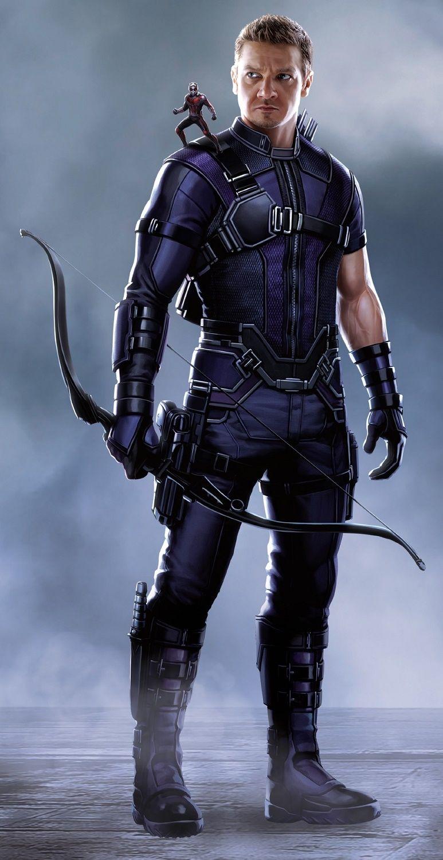 Captain America Civil War Promo Art - Hawkeye / JeremyRenner