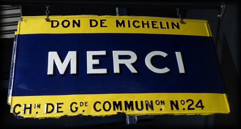 """Résultat de recherche d'images pour """"plaque don de Michelin"""""""""""