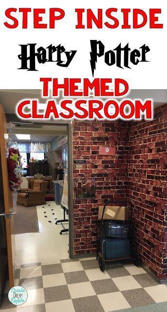 Amazing Harry Potter Classroom