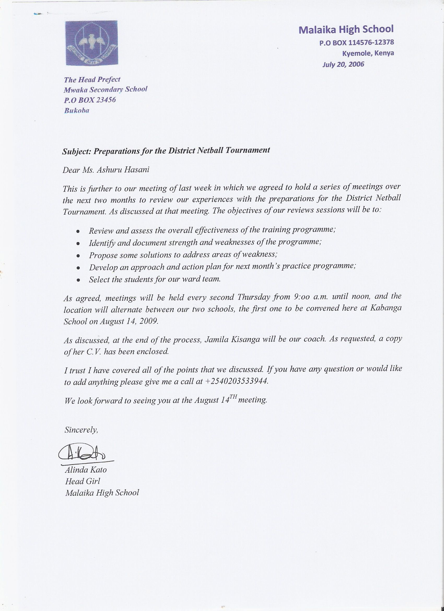 Unit Writing For Effective Communication Formal OccasionsOfficial Letter  Business Letter Sample