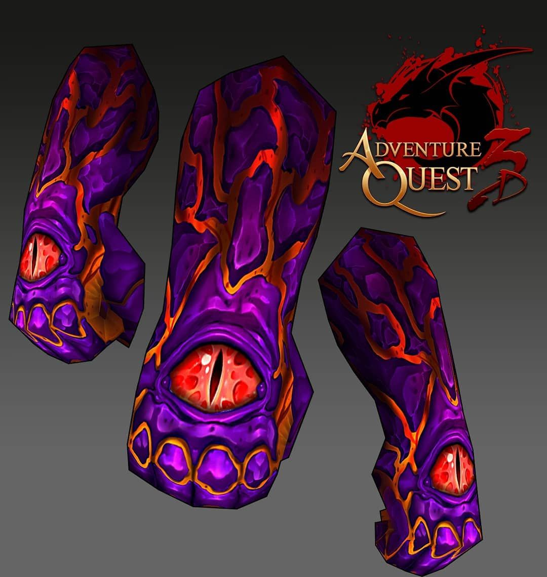 Guanty guant guantlets :) #aq3d #thyton #gameart