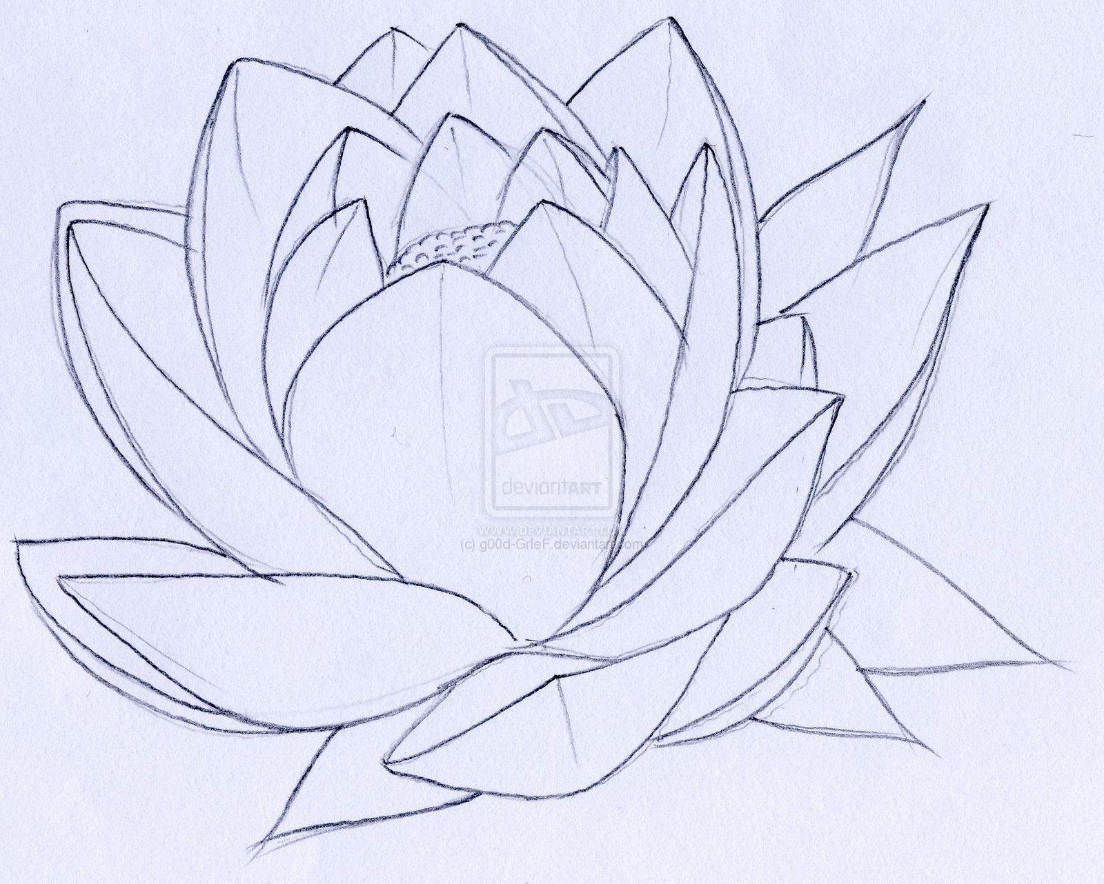 Blooming lotus designs women s - Lotus Tattoo By G00d Grief Deviantart Com On Deviantart