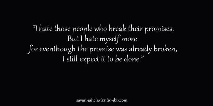 #brokenpromises