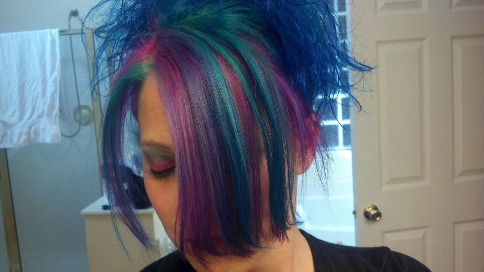 Ion Brilliance Brights In Sky Blue Teal Aqua And Fuschia This