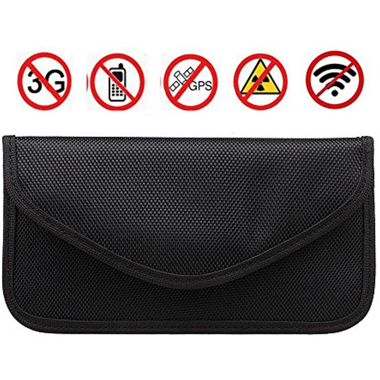 RFID Signal Blocking Bag,Anti-tracking Anti-spying Anti Radiation