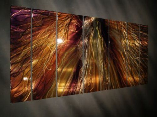 Large Abstract Metal Wall Art Zion By Artist Ash Carl Http