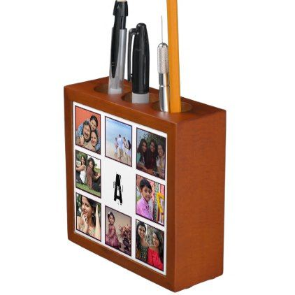 Unique Personalised Gifts For Him Her India Photo Desk Organizer Gift For Him Present Idea Cyo Design