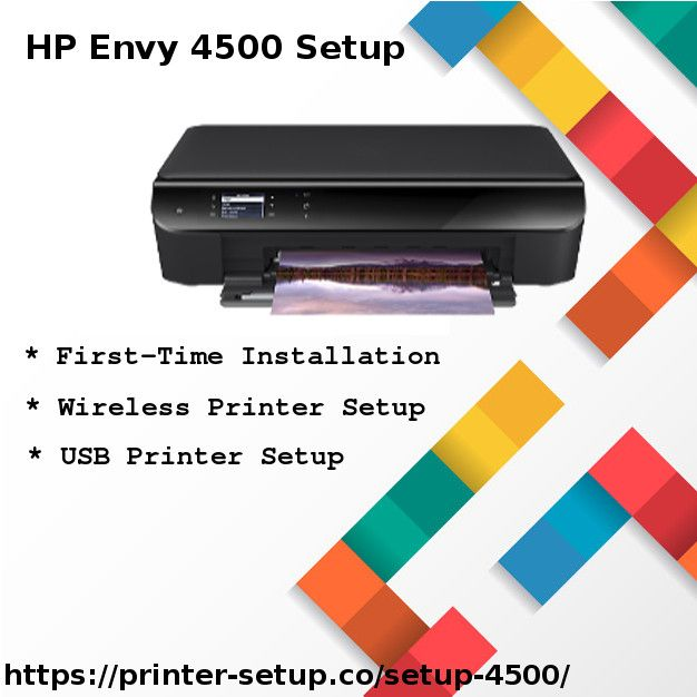 HP Envy 4500 Printer Installation Guidance (With Images