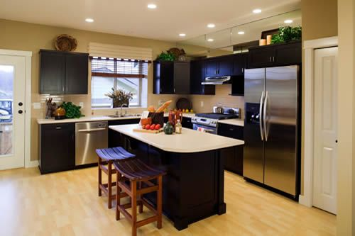 Split Level Remodel Kitchen Familyroom  Google Search  House Mesmerizing How To Design A Kitchen Renovation Inspiration Design
