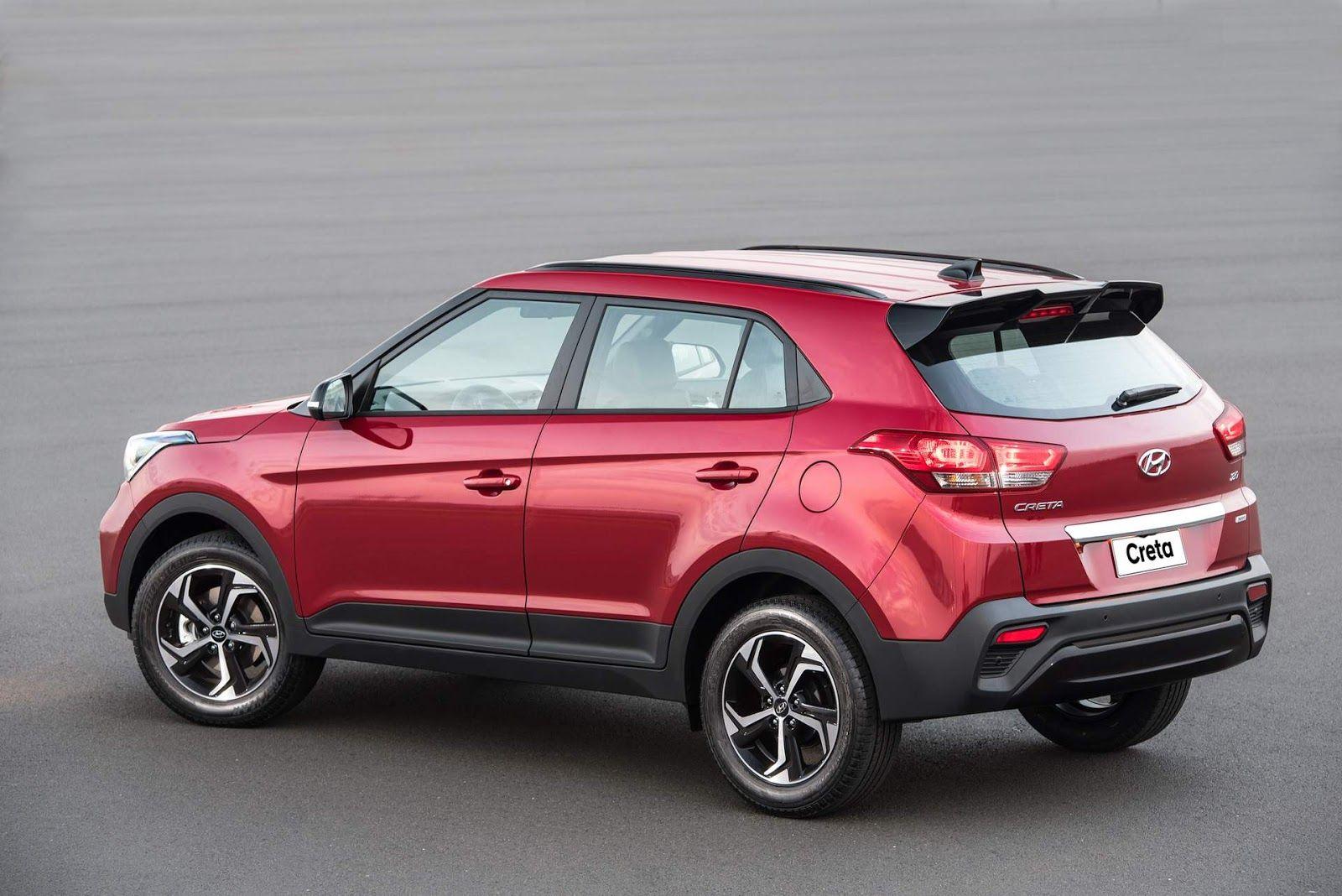 Novo Hyundai Creta 2020 Fotos Preco Consumo Medio Carros Carros Suv Carros Hyundai