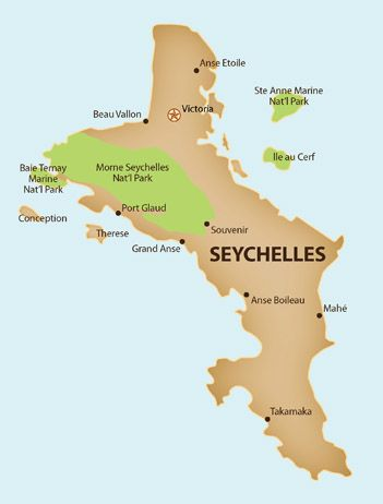 Map Of Seychelles Seychelles Map | Where Should I Go First? | Seychelles, Africa