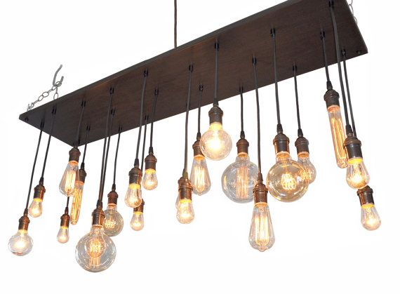 Edison bulb moment industrial chandelier rustic chandelier industrial edison bulb chandelier this chandelier is spectacular the pictures dont do it justice details base size 115 x 48 in aloadofball Image collections
