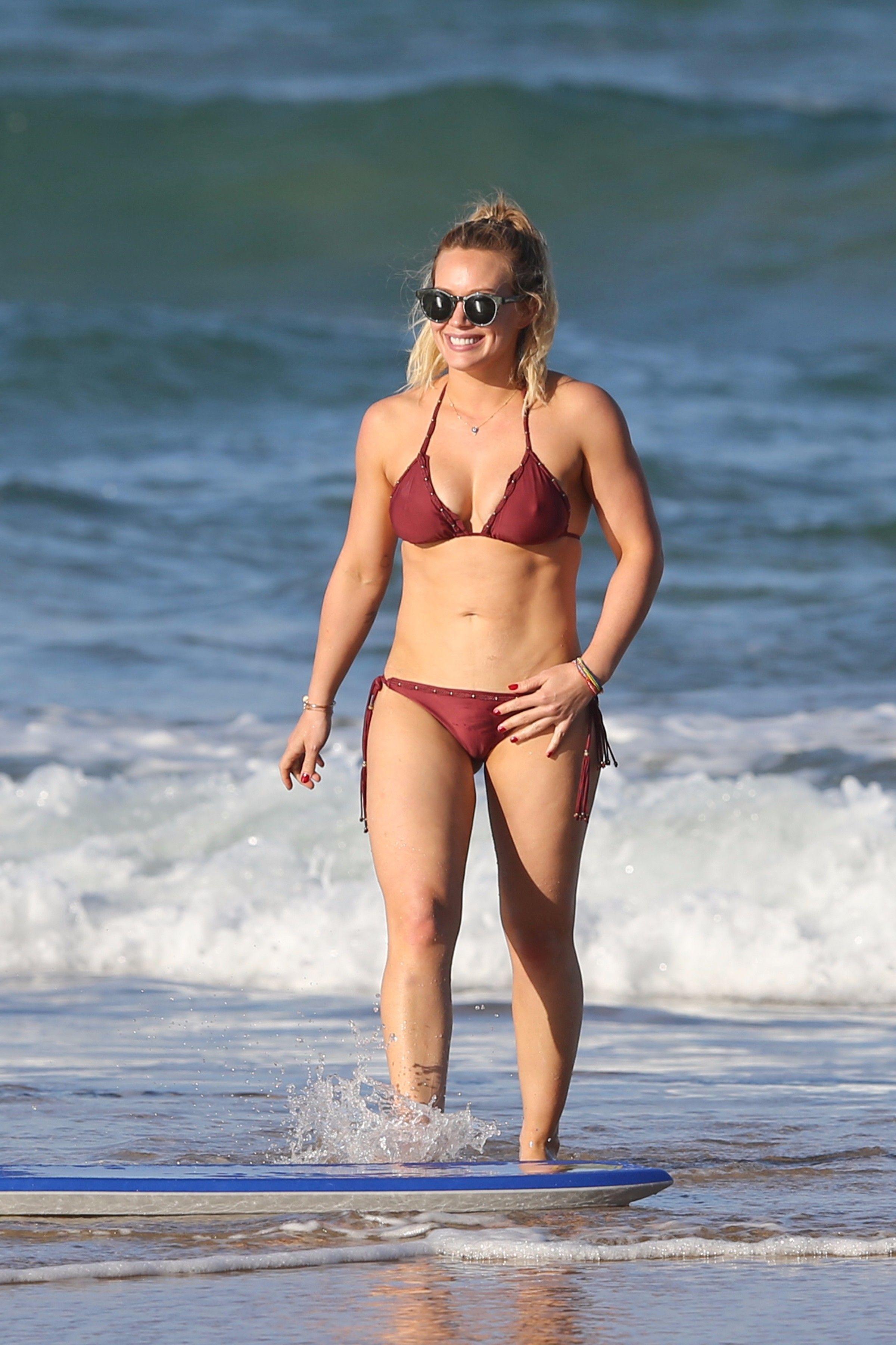 Hilary Duff Beautiful Celebrities, Beautiful Ladies, Bikinis, Swimwear,  Beachwear, Sexy Bikini