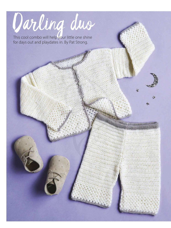 Baby Crochet Pattern Baby Pants Pattern Pdf Baby Jacket Newborn