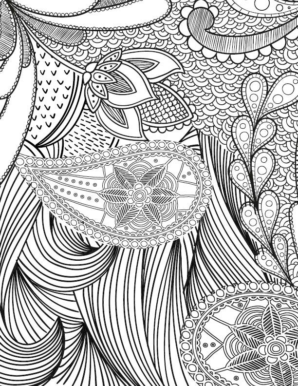Free Adult Coloring Page For Those Who Love Crafts And Pattern Designs I Have Several Books Every Single One Of Them
