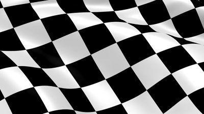 Waving Checkered Flag Checkered Flag Checkered Flag