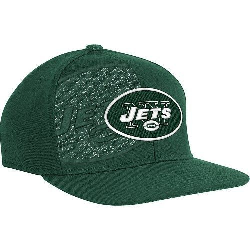 Reebok New York Jets NFL Sideline 2011 Player Second Season Hat Fitted Hat  L XL 47062ae32