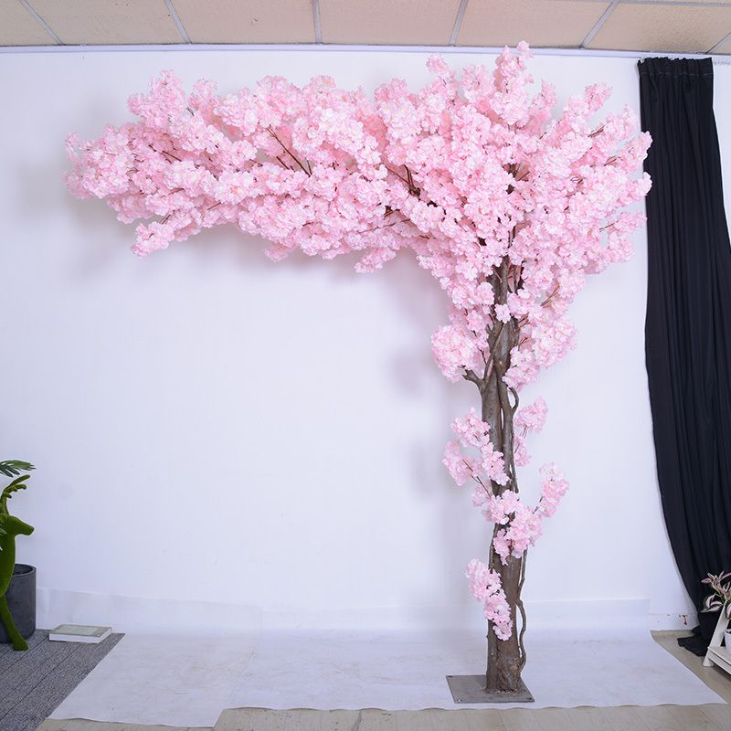 Source Wedding Decorative 2 2m Pink Indoor Artificial Cherry Blossom Tree From Artificial Tre Artificial Cherry Blossom Tree Blossom Tree Wedding Blossom Trees