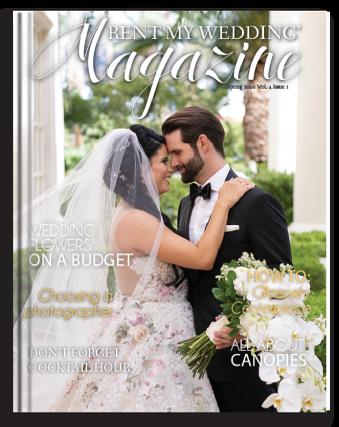 Rent My Wedding Magazine In 2020 Wedding Magazine Wedding My Wedding