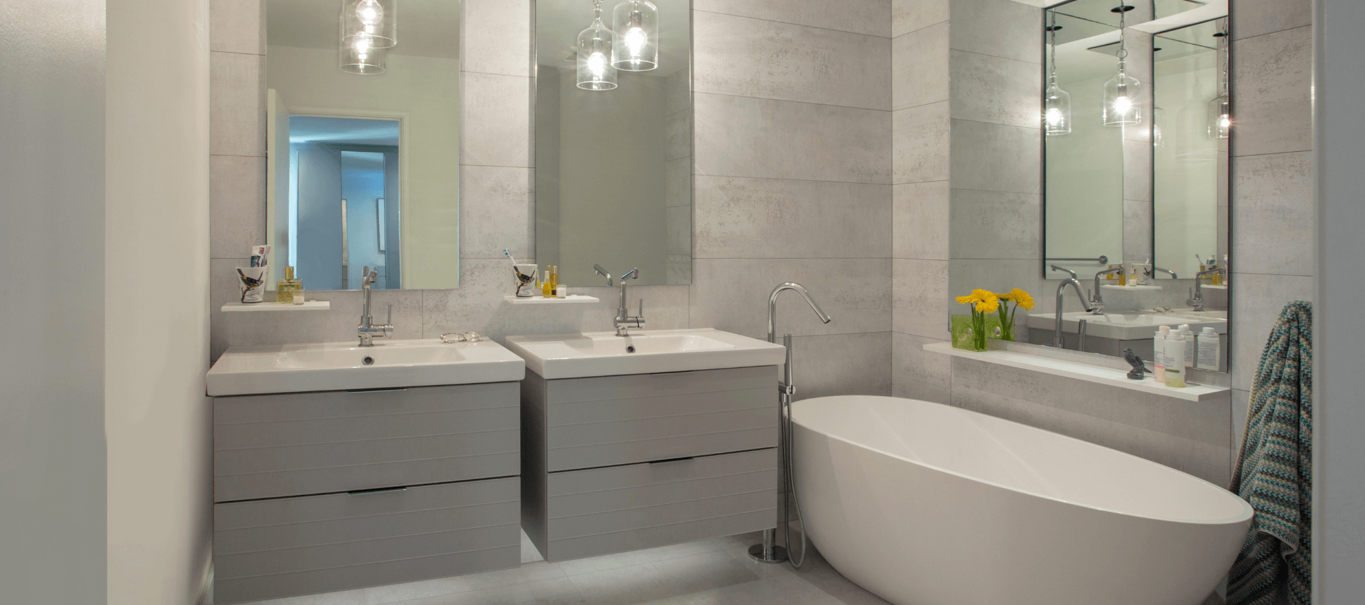 Give The Stunning Look With Bathroom Trends 2019 Bathroom Trends Rustic Bathroom Vanities Bathroom Wallpaper