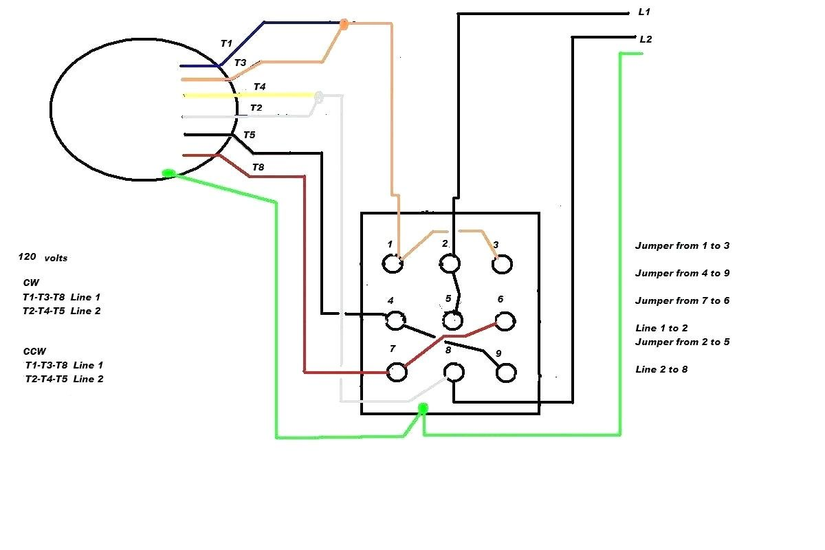 Motor Wiring Diagram Single Phase New In 2020 Electrical Circuit Diagram Circuit Diagram Capacitors