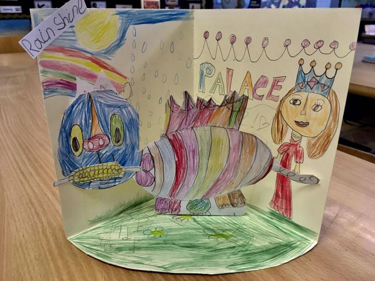Magical Pets by pupils at Godfrey Ermen Primary School in