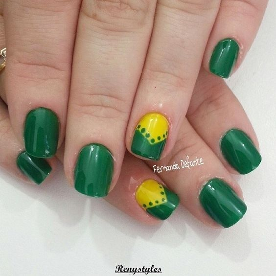 Marvelous Nail Art Design Gold & Leopard Print - Reny styles | Nails ...