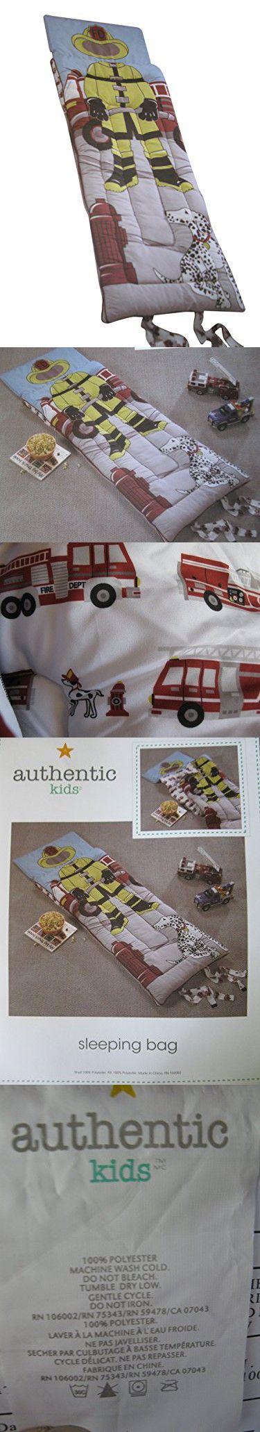 huge discount f6a05 9b11e Authentic Kids Fireman Sleeping Bag | Sleeping Bags | Bags ...