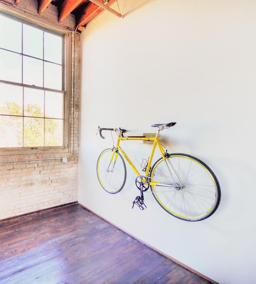 Minimalist Fahrradhalterung Für Wand