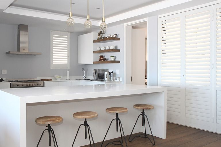 Security Shutters for kitchen windows by The Aluminium