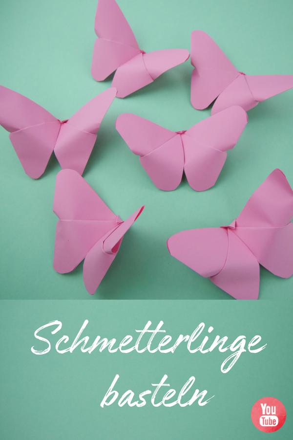 Schmetterling falten - für Kinder geeignet