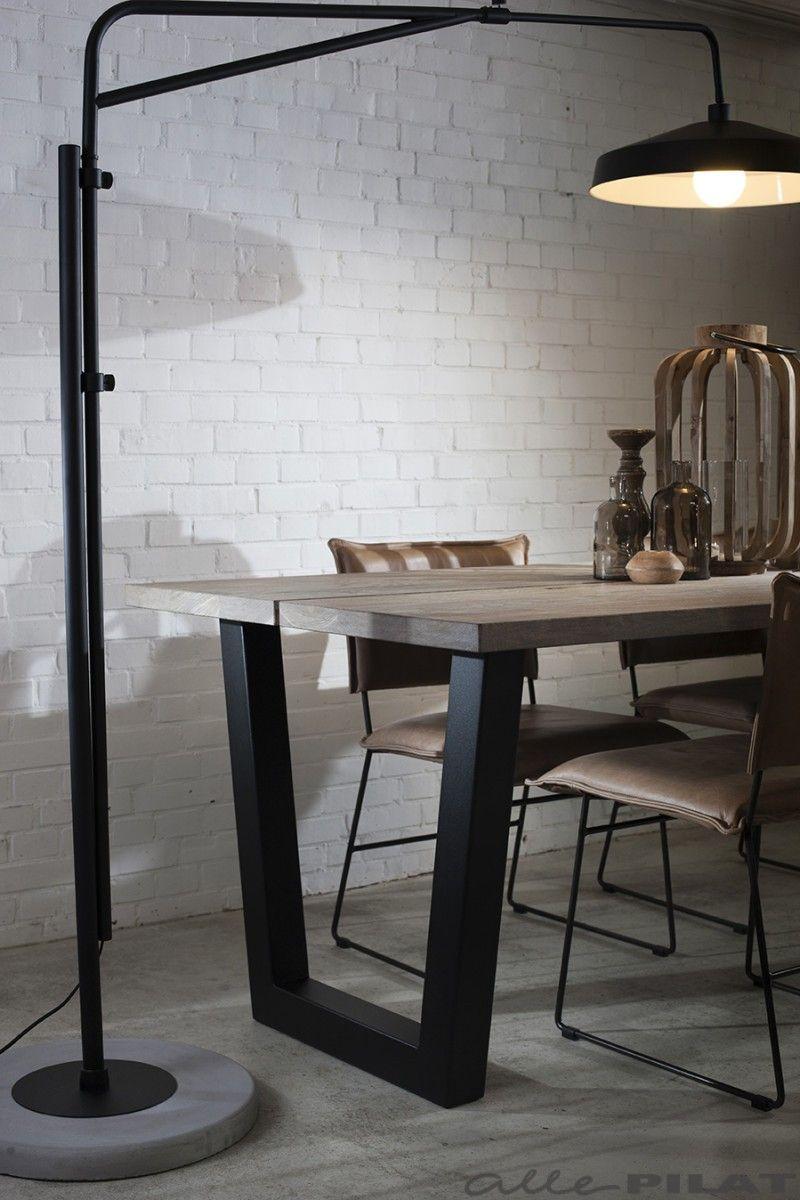 Industri u00eble tafel Twa   Brighton, Woonwinkel en Verlichting