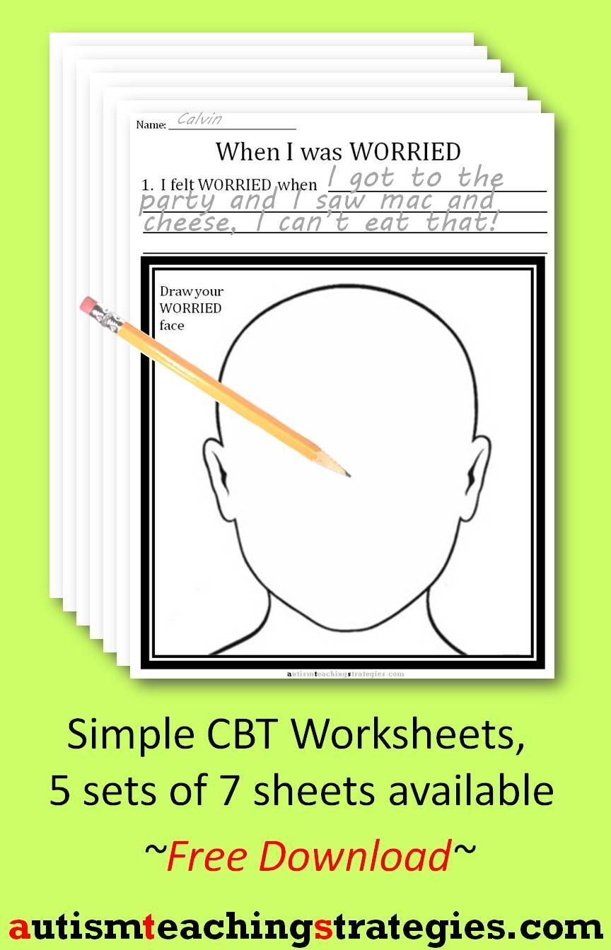 worksheet Anxiety Worksheet this is page 1 in a 7 worksheet set on dealing with anxiety it it