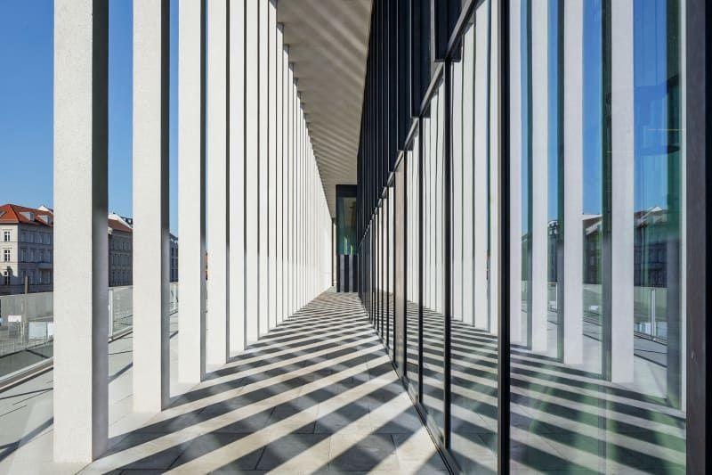 Neue James Simon Galerie Von David Chipperfield Ist Fertig Museum Insel Baustil Architektur