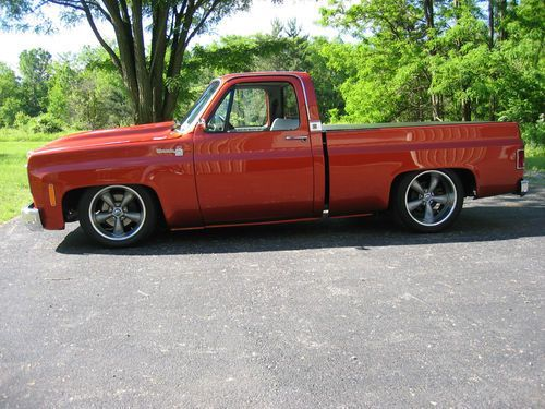 Custom 1978 chevy truck