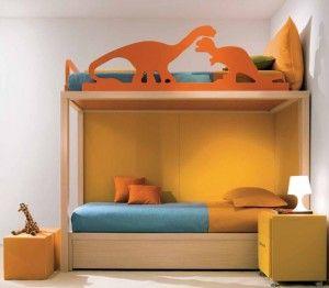 Zwillingszimmer baby  Zwillingszimmer mit Dinosauriern - ab in den Urwald