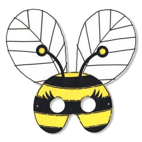 Máscara abeja | bye (heuning) | Pinterest | Abeja, Máscaras y Carnavales