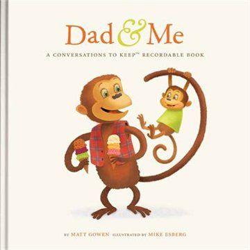 Dad & Me Recordable Conversation Book