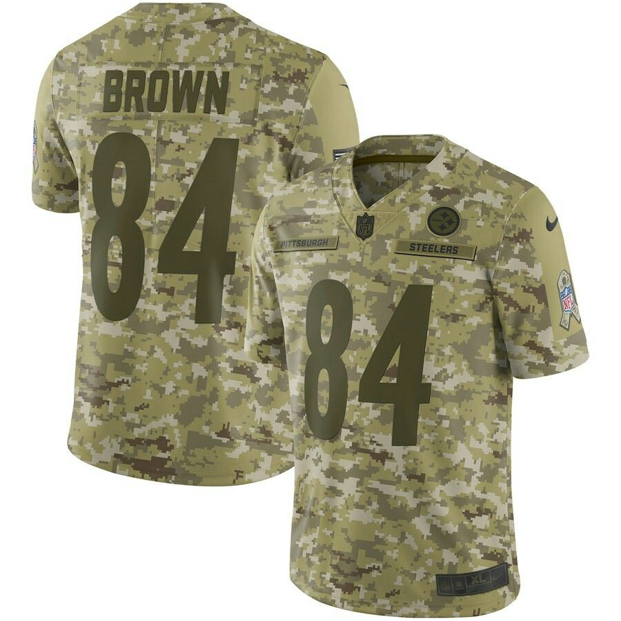a9095632741 Pittsburgh Steelers Jerseys, Nfl Jerseys, Salute To Service, Military  Jacket, Antonio Brown