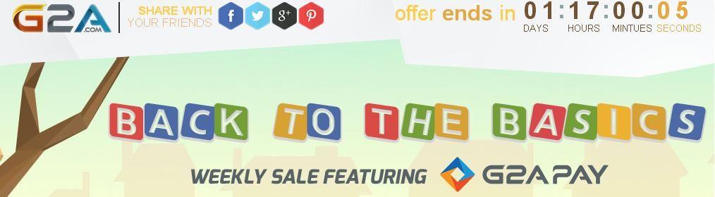 G2a weeklysale game prices week marketing