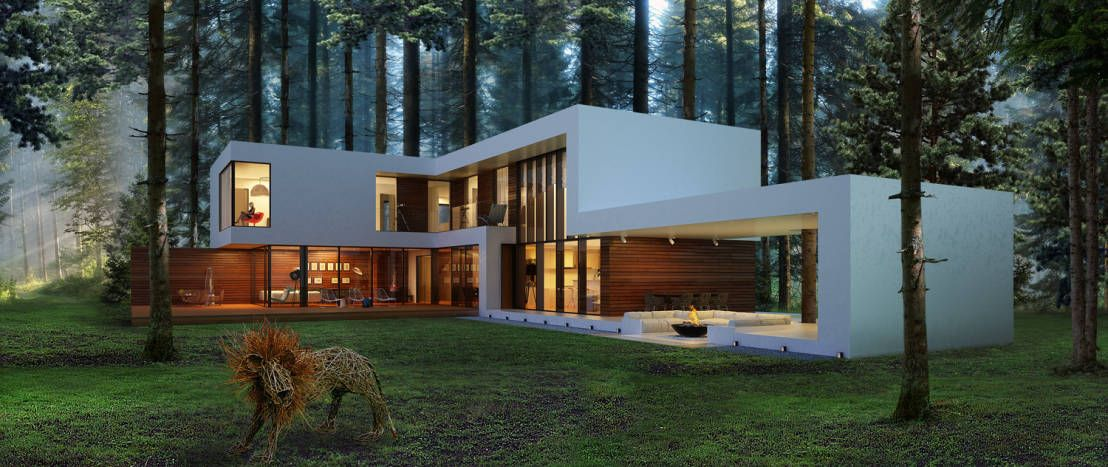 The Fantastic Forest House Minimalis