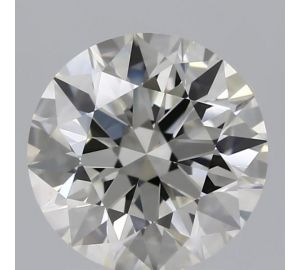 GIA Graded Round Diamond - 2 Carat, I Color, SI1 Clarity