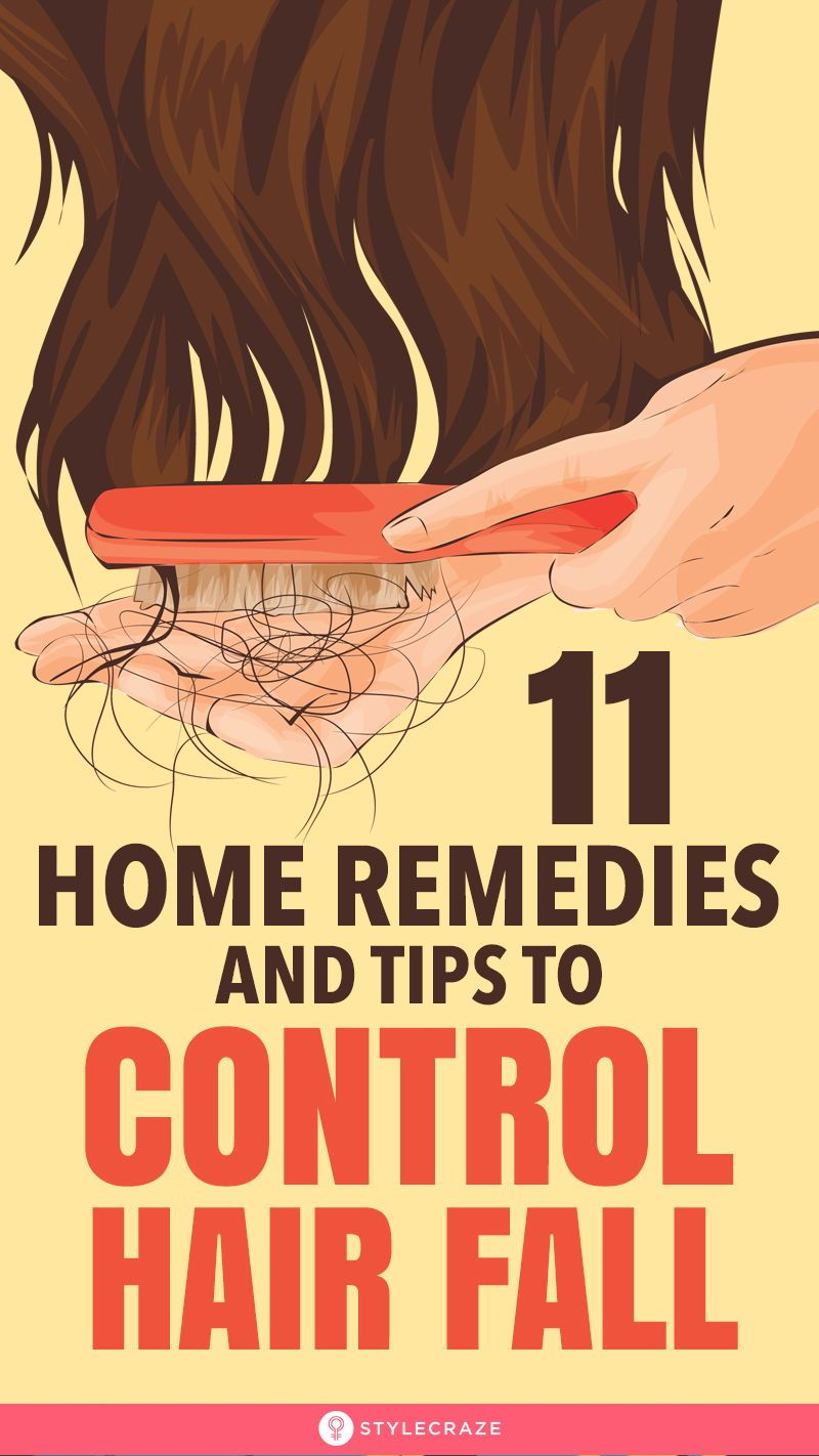 11 Effective Home Remedies And Tips To Control Hair Fall -   18 hair Fall ideas